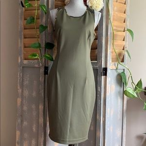 Kardasian Kollection Camouflage sleeveless dress🦜